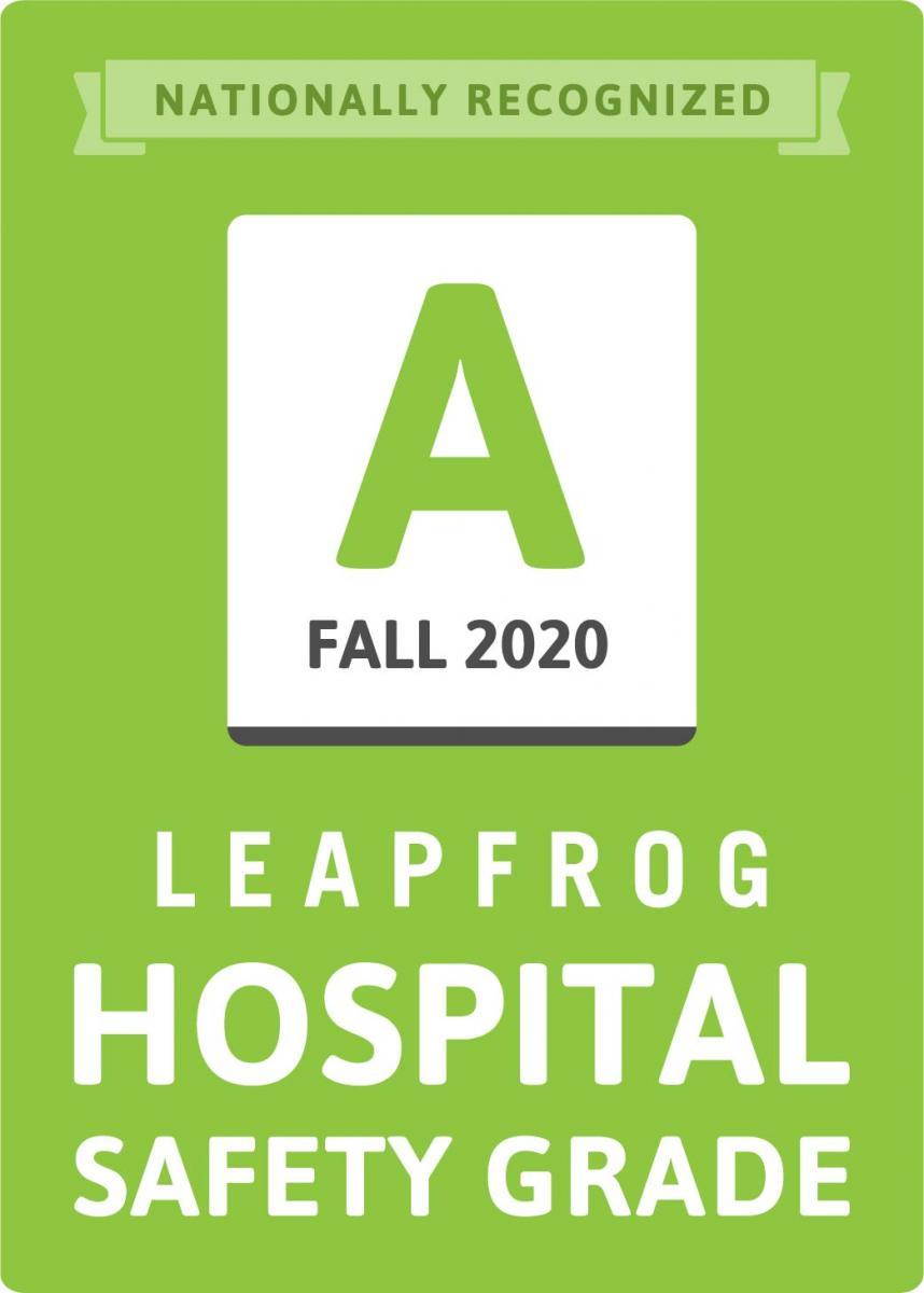 Leapfrog Hospital Safety Grade Otoño 2020