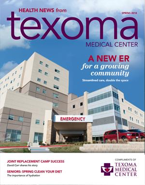 Health News Magazine Spring 2018 Cover
