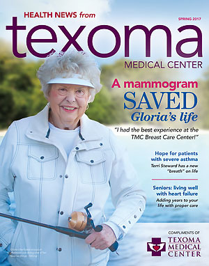 Download PDF of TMC Health News Spring 2017