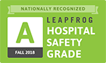 Texoma Medical Center es reconocido a nivel nacional con un Leapfrog Hospital Safety Grade of A para el otoño de 2018