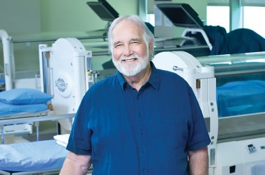 """Hyperbaric oxygen therapy worked like a miracle for me!"""
