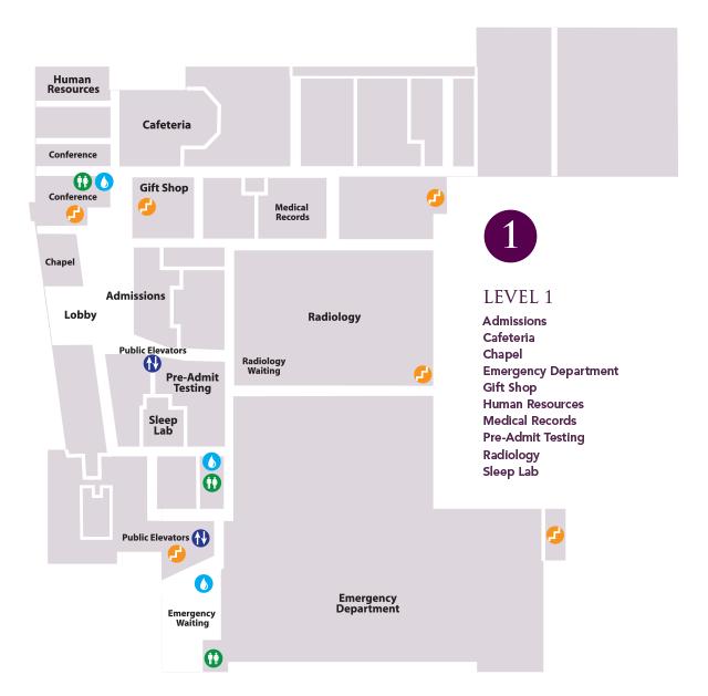 Map - Level 1