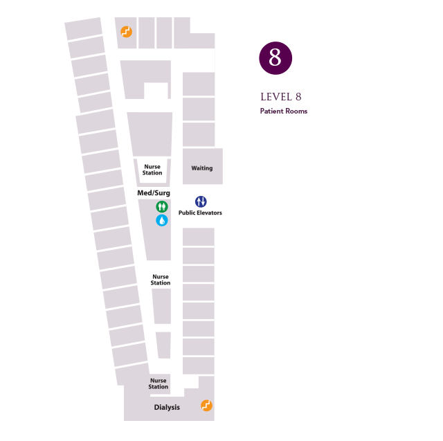 Map - Level 8