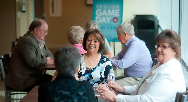 Día de juegos del programa Senior Advantage